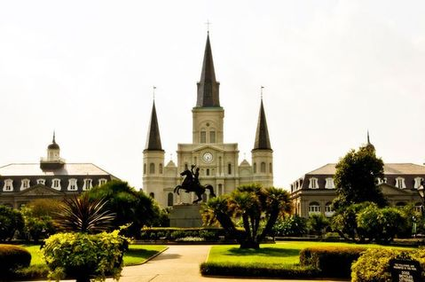 St. Louis Cathedral in the French Quarter, New Orleans