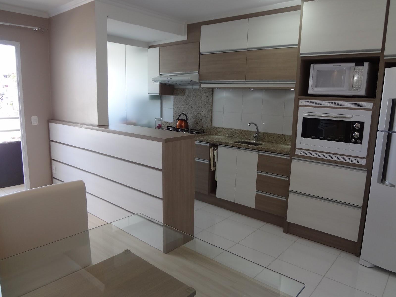 Mob Lia Para Apartamento Sob Medida Rafinha Paim -> Divisor Sala E Cozinha