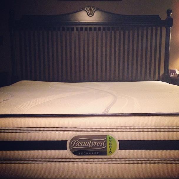 beautyrest recharge hybrid mattress from