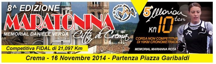 Maratonina Città di Crema