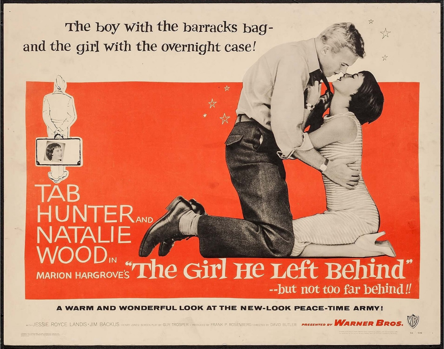 THE GIRL HE LEFT BEHIND (1956) WEB SITE