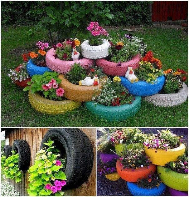 recycle old tire