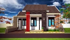 Desain Rumah Minimalis 1 Lantai Tampak Depan