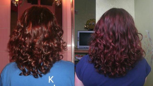 Akcja zapuszczania włosów z Ewą - raporcik :)