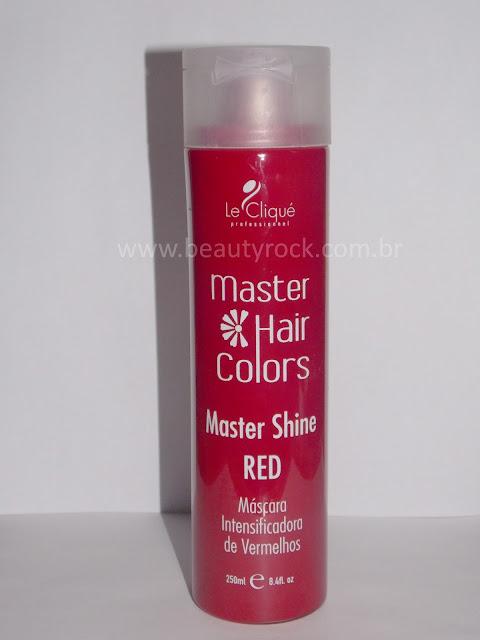 Máscara Intensificadora de Vermelhos Master Shine Red - Le Cliqué