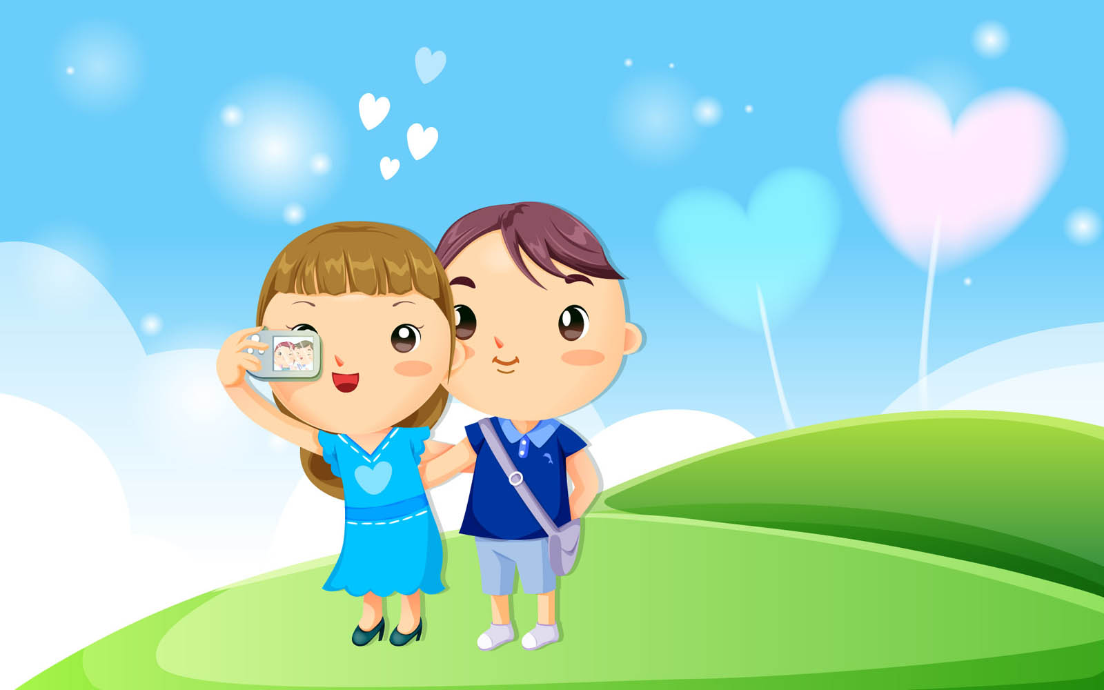 Wallpaper Kartun Cinta Romantis Wallpaper Kartun Cinta Romantis