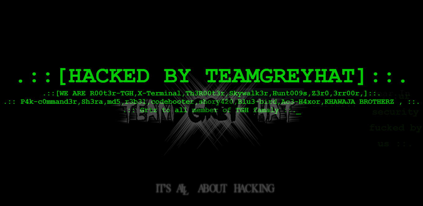Govt server rooted 5k sites hacked by teamgreyhat the hackers media