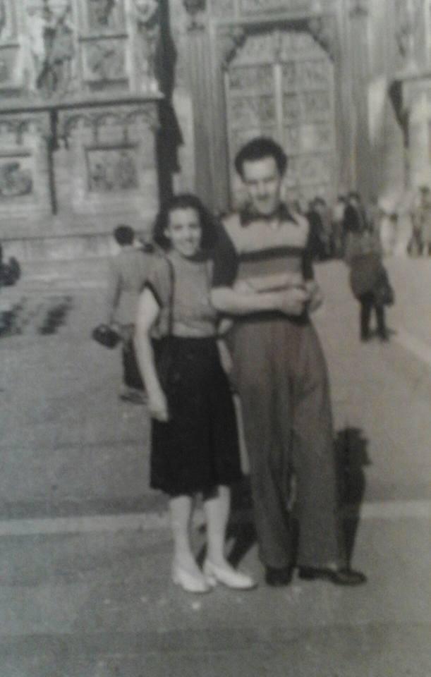 papa mario garibbo  e mamma
