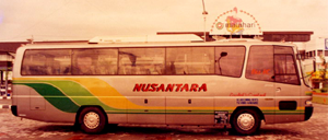 Bus Pertama PO NUSANTARA