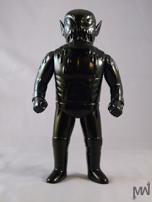 San Diego Comic-Con 2012 Exclusive Unpainted Black Cannibal Fuckface Vinyl Figure by Monster Worship