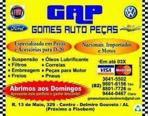 GAP - Gomes Auto Peças