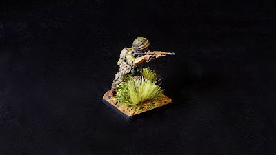 Analogue Hobbies From Curt 28mm French Paratroopers In
