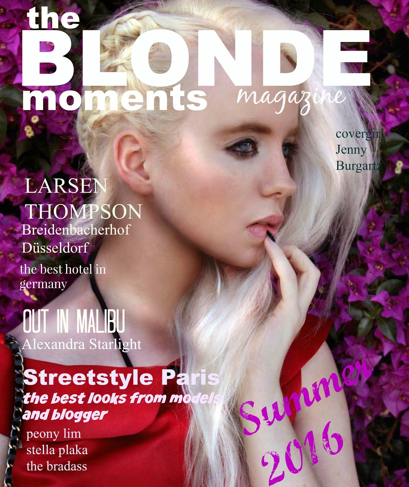 THE BLONDE MOMENTS MAGAZINE  CLICK ON THE PIC