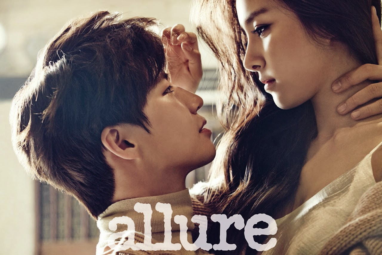 Kim So Eun and Song Jae Rim - Allure Magazine December Issue 2014
