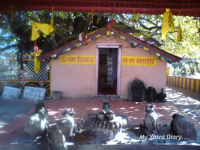 Jyoteshwar Mahadeo Temple in Joshimath near Badrinath in Uttarkhand