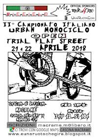 2° Campionato Italiano Urban Open - TRIAL  •  FLAT  •  STREET - Mondovì (CN)