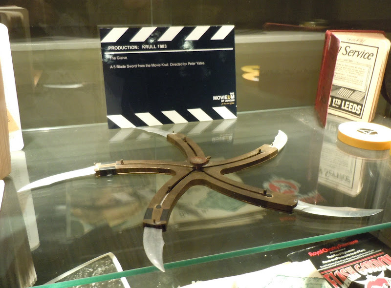 Glaive Krull movie prop
