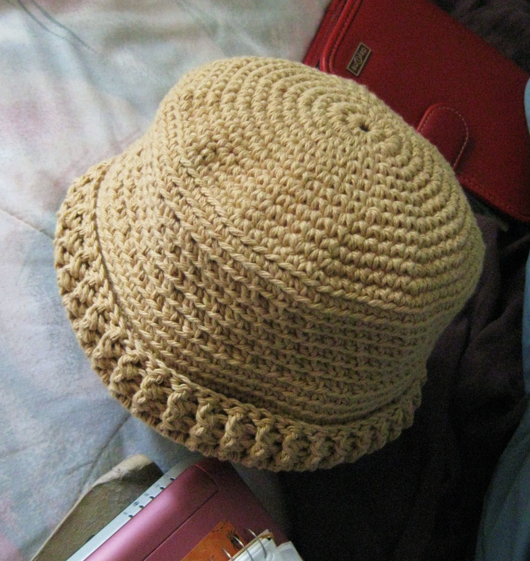 Crochet Newborn Bucket Hat Pattern : Tales and Yarns by Laurie Laliberte: Trick or Treat? (free ...