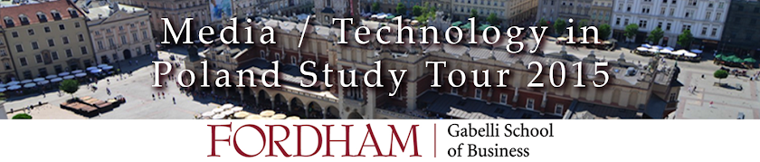 Media / Technology in Poland Study Tour 2015