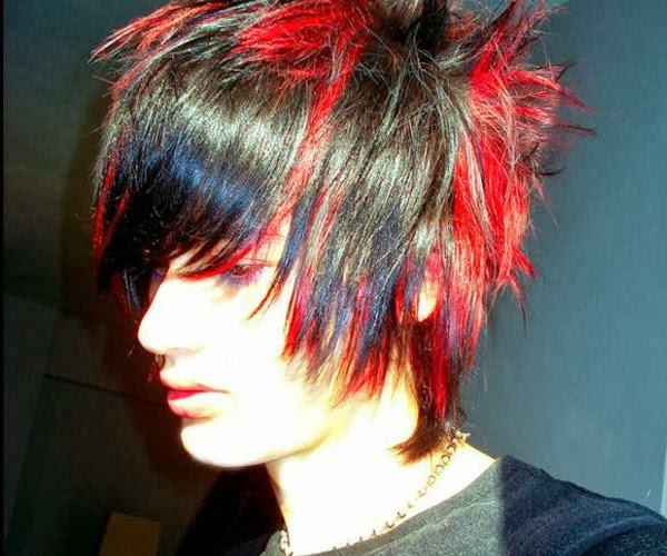Stunning Expressions Of Emo Colorful Hairstyles For The
