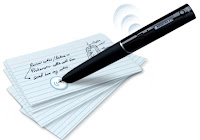 Livescribe Echo Pen with sound sticker