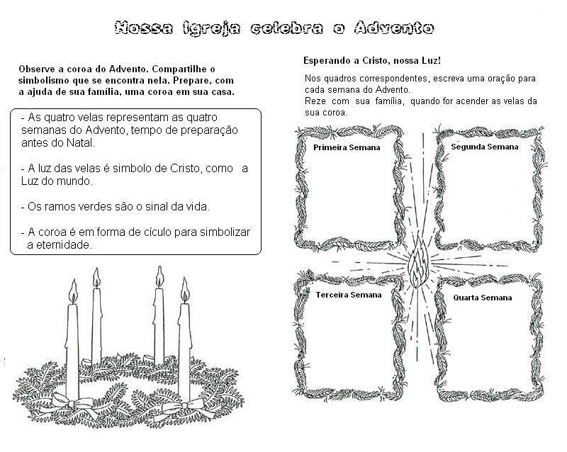 Famosos ♥ Jardim da Fé ♥: ATIVIDADES PARA O ADVENTO GY96