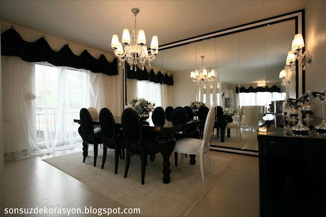 Avangard Salon dekorasyonu-mobilya-ev dekorasyonu-salon takımı-yemek odası modeli