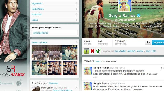 Sergio Ramos Bikin Kesalahan Konyol diTwitter