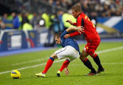 France 0 - 0 Belgium (1)