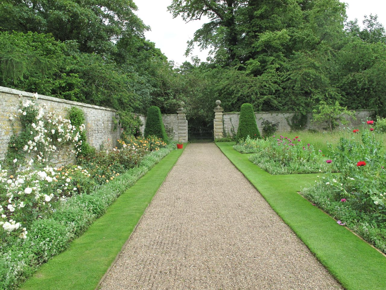 Rock rose nunnington hall helmsley walled garden for English terrace