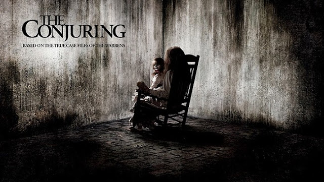 The conjuring movie, the conjuring poster banner, horro movie 2013