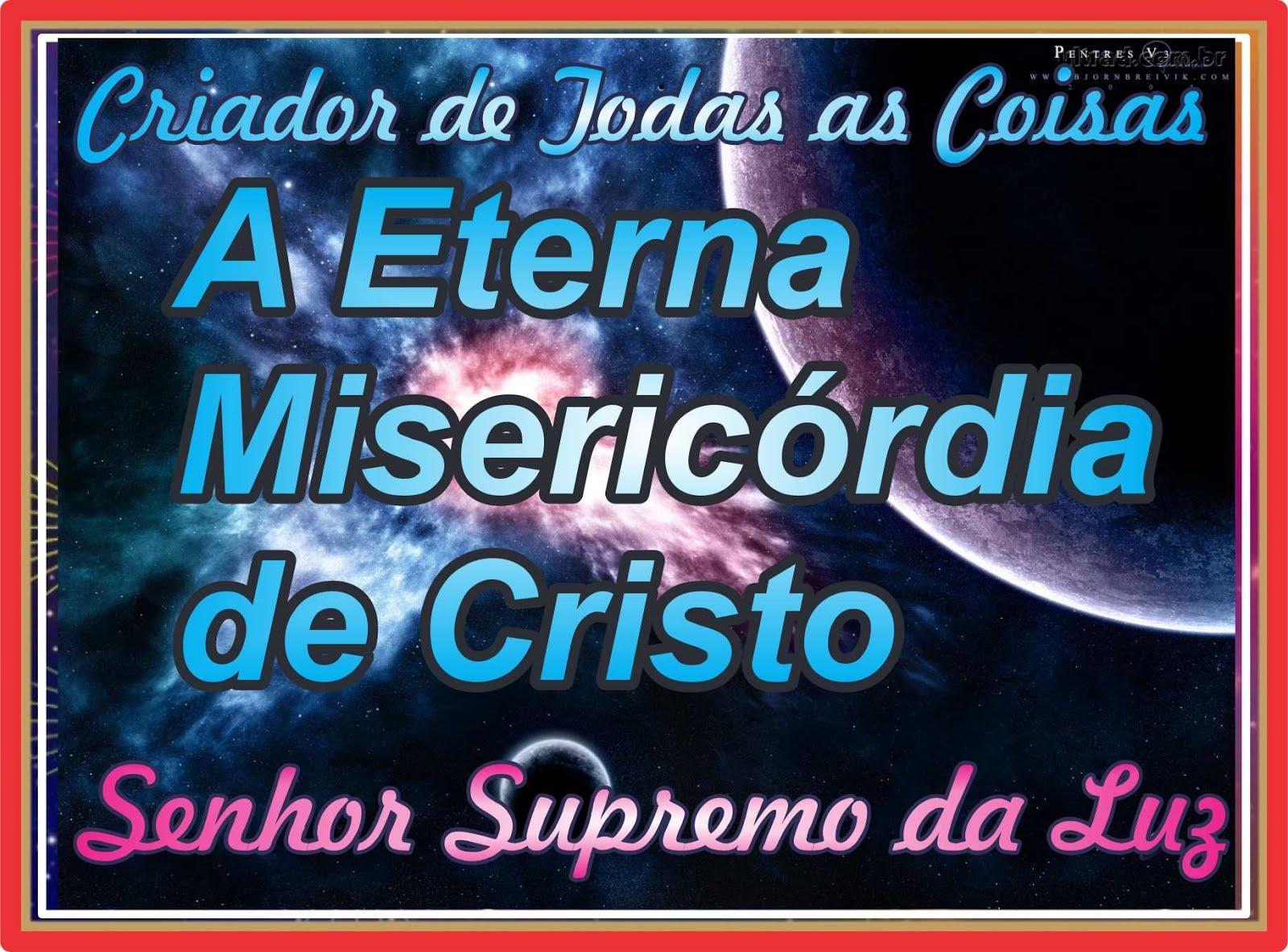 A Misericórdia de Jesus