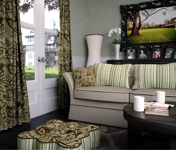 Modern Living Room Curtains Design Ideas 2014 | Modern Home Dsgn