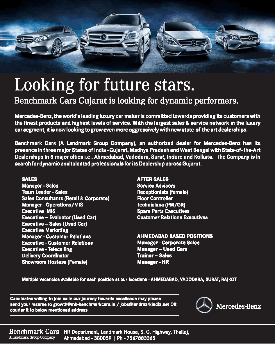 Nuevas oportunidades august 2013 for Mercedes benz sales jobs