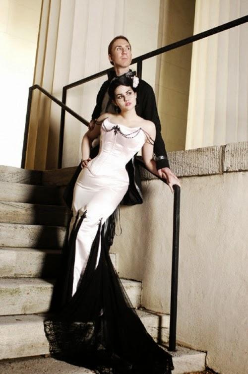 Model Gaun Pengantin Gothic