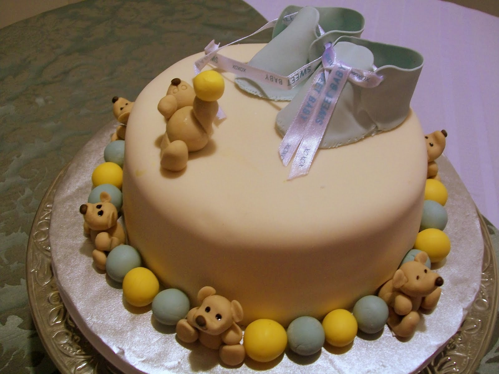 Baby Shower & Baptism Cakes