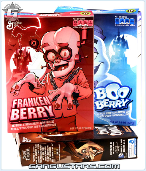 FrankenBerry BooBerry Count Chocula monster cereals dc comics Jim Lee