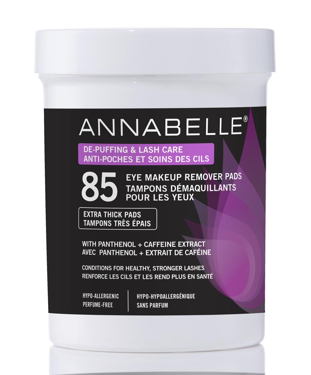 Annabelle Tampons démaquillants pour les yeux anti-poches et soins des cils