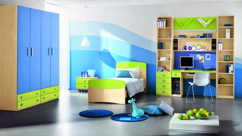 desain dekorasi kamar tidur anak minimalis modern