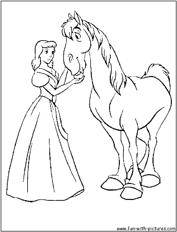 Princess Cinderella Coloring Pages Ideas title=