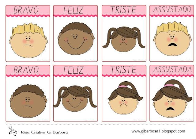 Flash Cards para trabalhar expressões