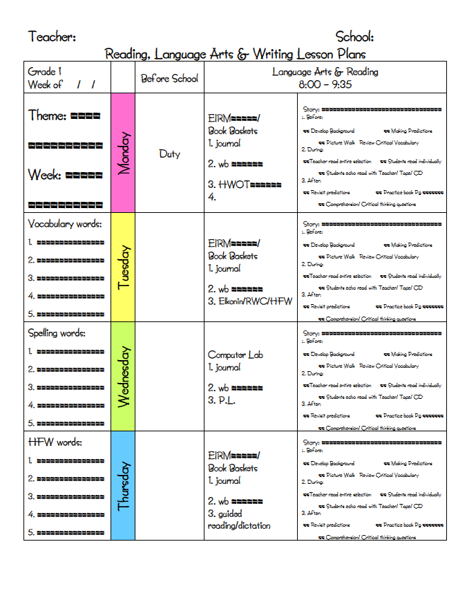 ms m at a teacher s plan created this amazing lesson plan template for ...