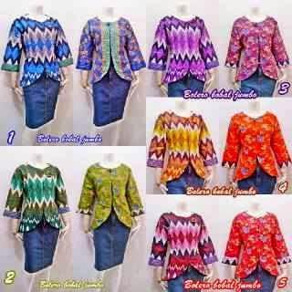 Baju Batik Wanita Model Bolero Terbaru Dan Modern