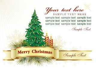 金色の帯が美しいクリスマスカード テンプレート beautiful christmas greeting card background  イラスト素材