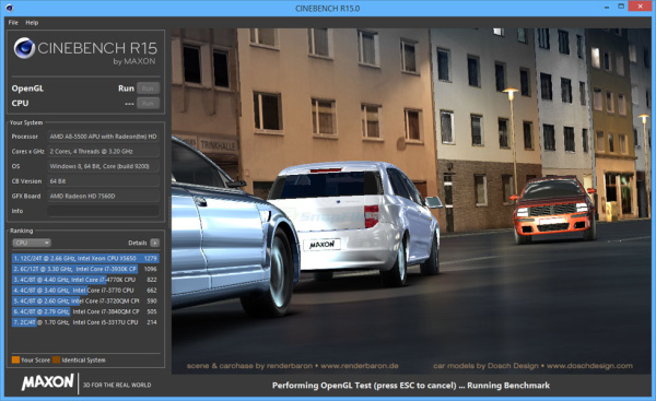 Maxon Cinebench
