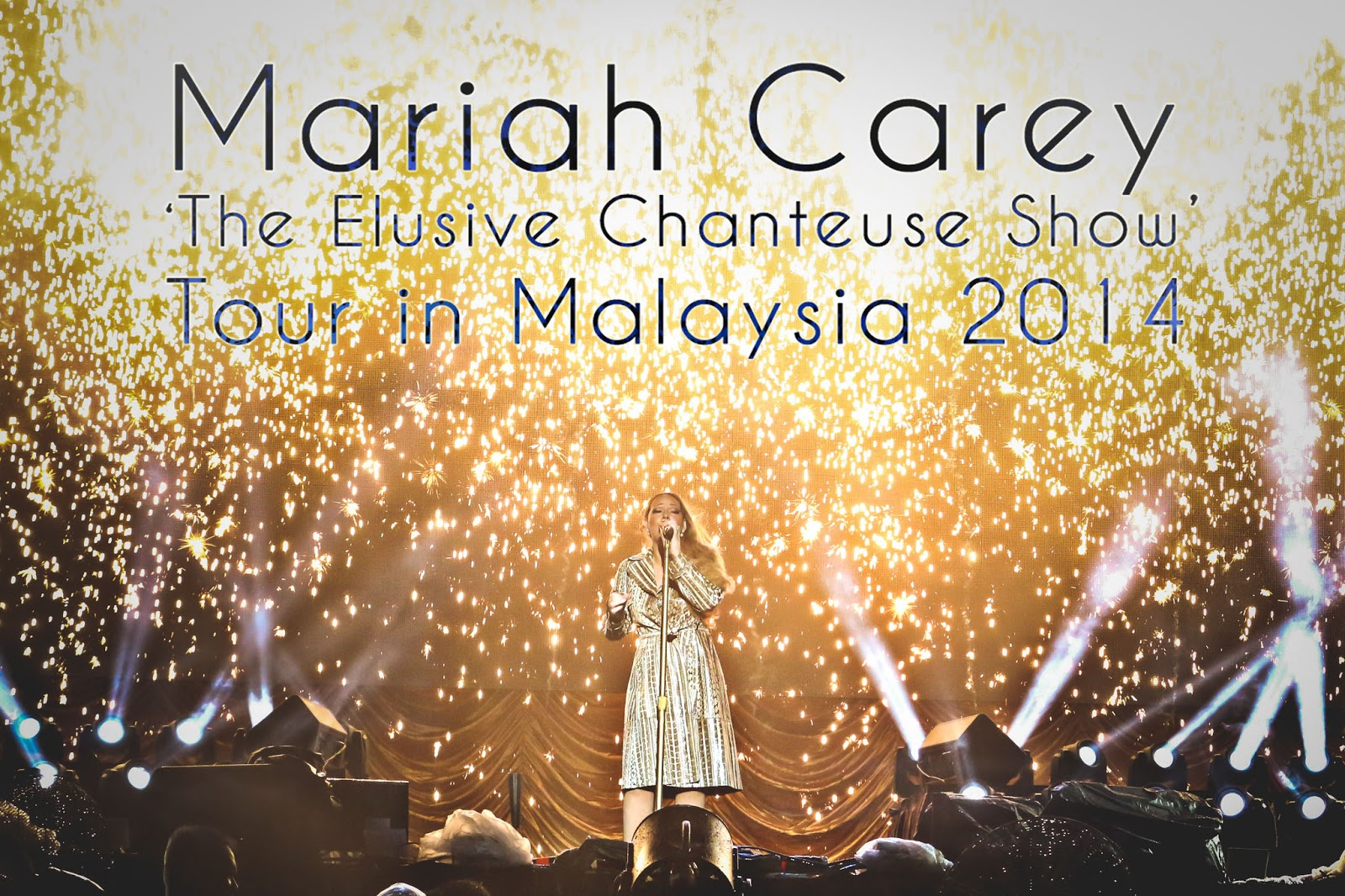 [Photo] Mariah Carey 'The Elusive Chanteuse Show' Tour in Malaysia 2014 #MariahCarey