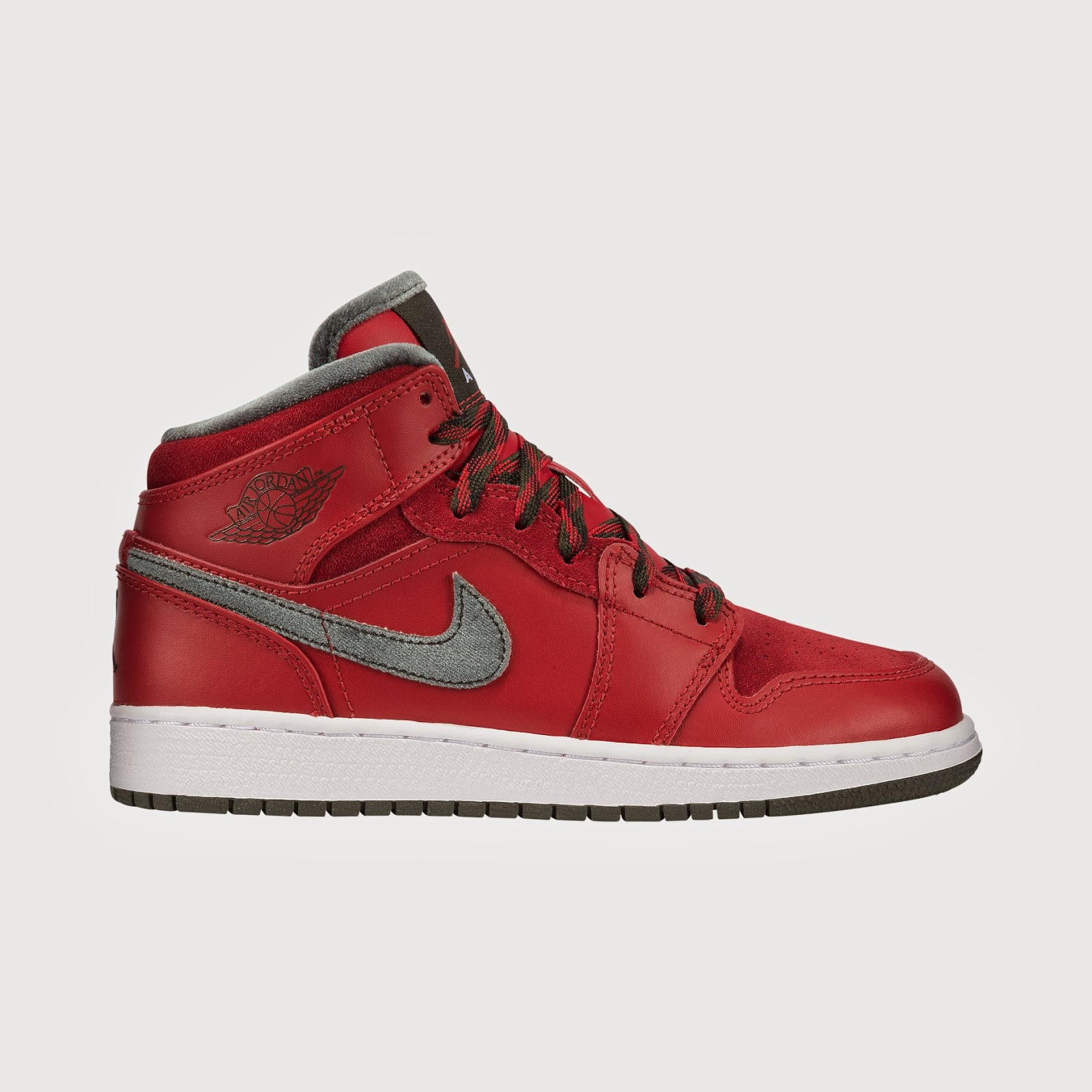 Air Jordan 1 Mid Premium Kids' Shoe # 619049 - 631