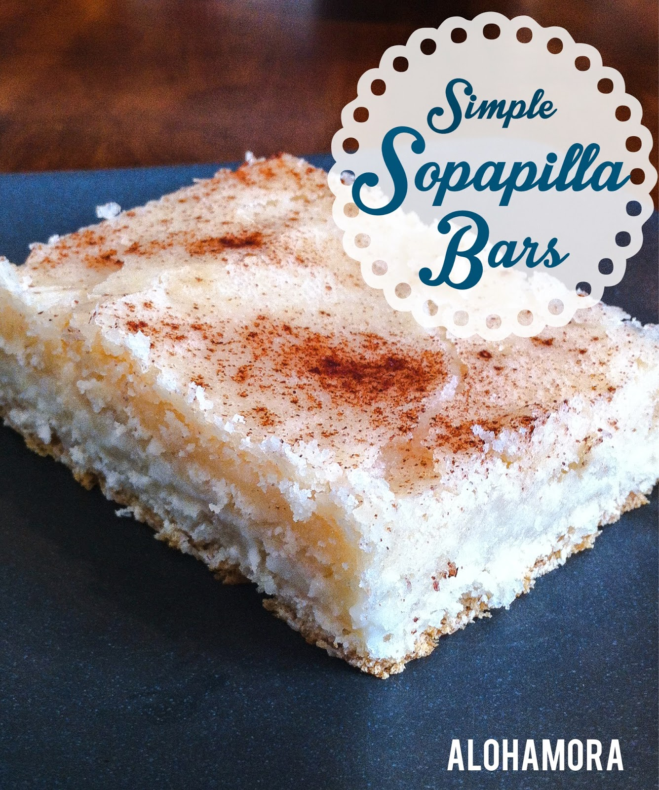 Simple to make and amazingly delicious SOPAPILLA BARS with a cheesecake like filling. Alohamora Open a Book http://www.alohamoraopenabook.blogspot.com/