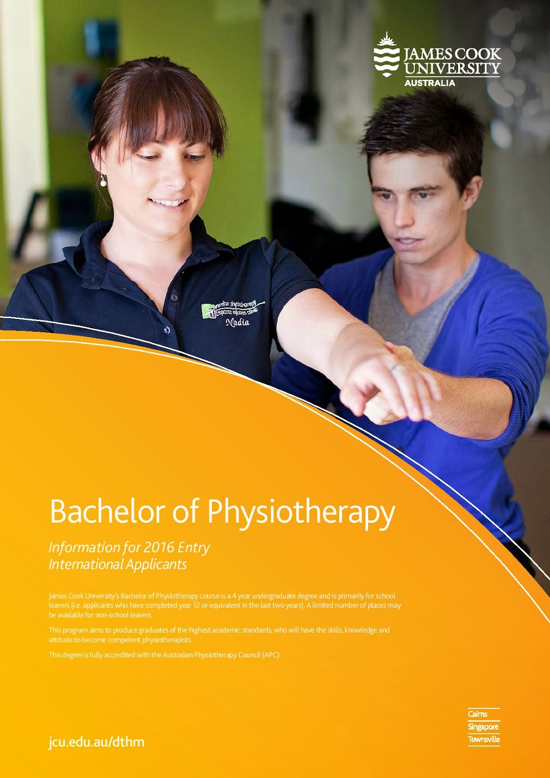 Bachelor of Physiotherapy JM Education Group Education UK