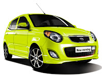 kia morning new sport